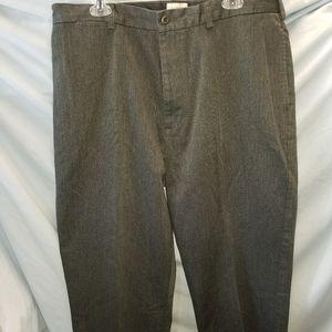 J. Crew Mens Dress Pants 38x34 Charcoal Gray